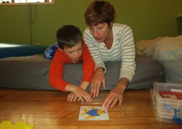 Fine motor skills are developed through games, crafts, handwriting, and other activities.