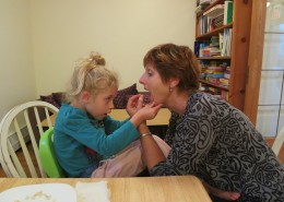 Therapy at Make Way For Me! includes skills like eating, drinking, and other meal-time skills.